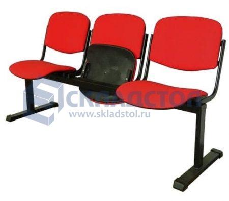 СЕКЦИЯ ИЗО без подлокотников и откидывающимися сидениями
