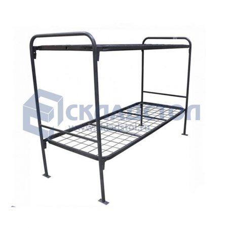 Кровать двухъярусная для рабочих и общежитий