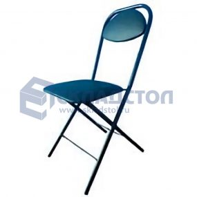 Складной стул на металлокаркасе