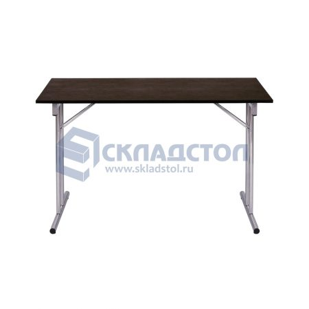 """Складные столы """"Трапеция"""" подстолье хром (гальваника)"""