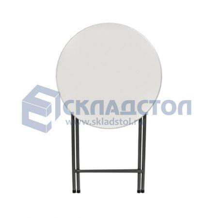 Стол пластиковый коктейльный / барный складной
