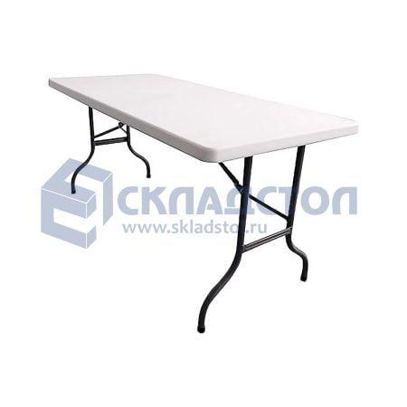 Стол складной пластиковый. Не складная столешница