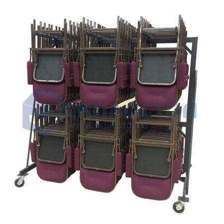"""Тележка для перевозки складных стульев и кресел """"Собрание"""""""