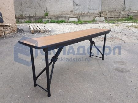 Складное основание / механизм для складной лавки / скамейки ( для лавок длиной от 1200 мм до 2400 мм)