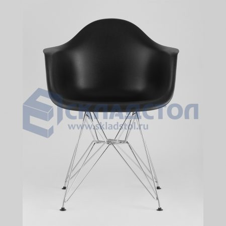 Кресло EAMES на хромированных ножках
