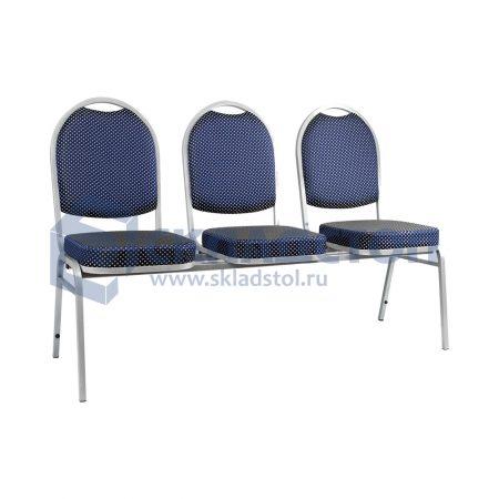 Многоместные секции стульев для актового зала