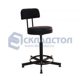 Винтовые стулья и табуреты. Промышленные и лабораторные стулья.