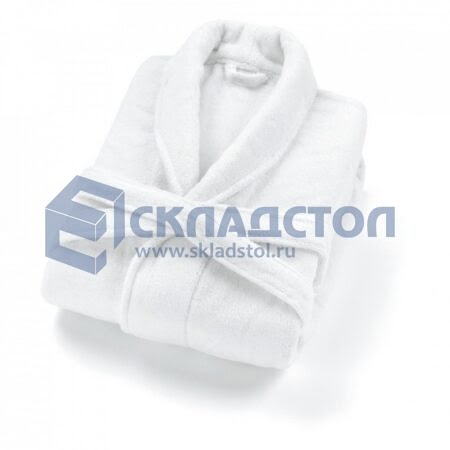 Халат Махровый белый ЛЮКС
