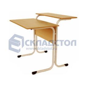 Стол компьютерный школьный одноместный на металлокаркасе 6 гр