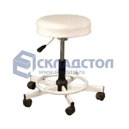 Табурет ( стул без спинки) лабораторный (медицинский) на газлифте